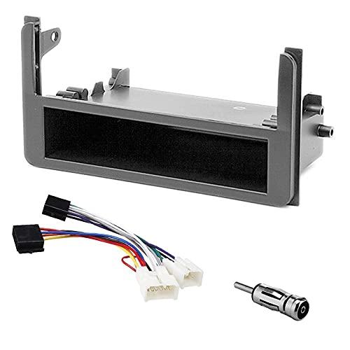 Sound Way - Kit Montaggio autoradio 1 DIN Adattatore per Toyota Yaris, 4Runner, Rav4, Celica - KA11-420