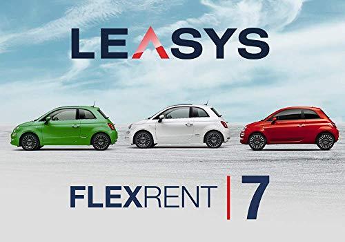 Pass offerta Leasys FlexRent 7. Noleggio auto di durata 7 giorni