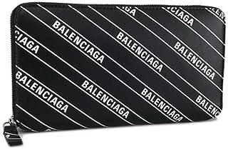 バレンシアガ BALENCIAGA ユニセックス 長財布 EVERYDAY 579643 0HIJN 1090 ブラック×ホワイト 1920aw [並行輸入品]