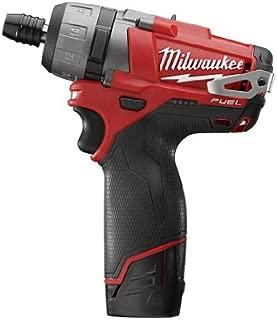 Milwaukee 2402-22 M12 Fuel 1/4 Hex 2-Spd Screwdriver Kit W/2 Bat
