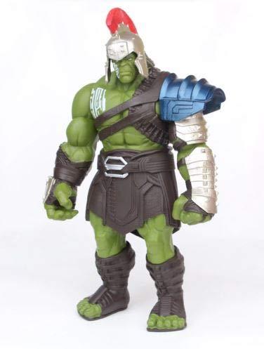 Sellworlder Figura Hulk Ragnarok de 35 cm tamaño Grande Vengadores Marvel Thor 3 Figura accion colección Juguete