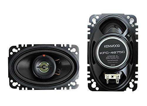Kenwood Kfc-4675C 60-Watt 4-Inch X 6-Inch Two-Way Speaker System