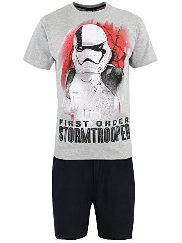 Star Wars Pijama para Hombre Stormtrooper Multicolor Large