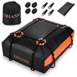 Car Roof Bag Cargo Carrier, Roof Cargo Box, 20 Cubic feet for All Cars...