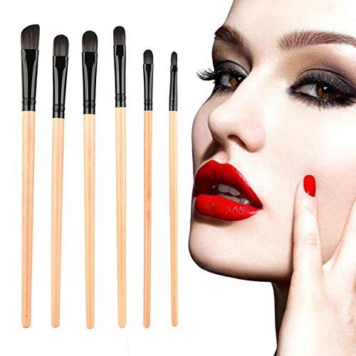 MEIYY Pinceau de maquillage Makeup 5Pcs Makeup Brushes Single Head Long-Handled Brush Eye Shadow Eyebrows Brush