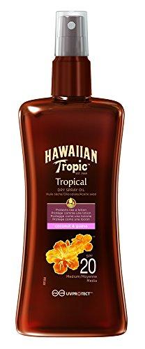 Hawaiian Tropic Protective Spray Oil SPF20 200ml
