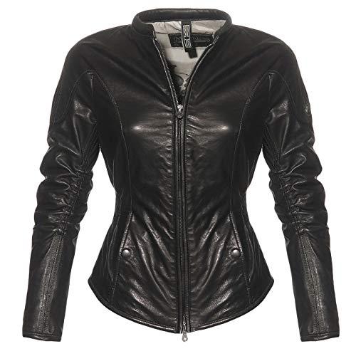 Matchless Damen Nappa Leder Jacke Regent Black 123035 ((44) M)