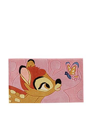 Disney ABC Tapis Walt Bambi 50 X 80 cm Rose