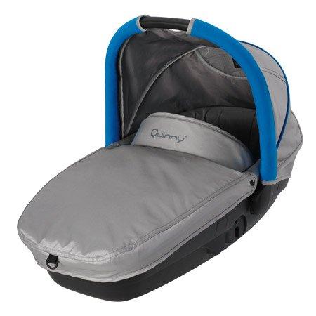 Quinny senzz Auto-Kindersitz, Gruppe 0 grau/blau