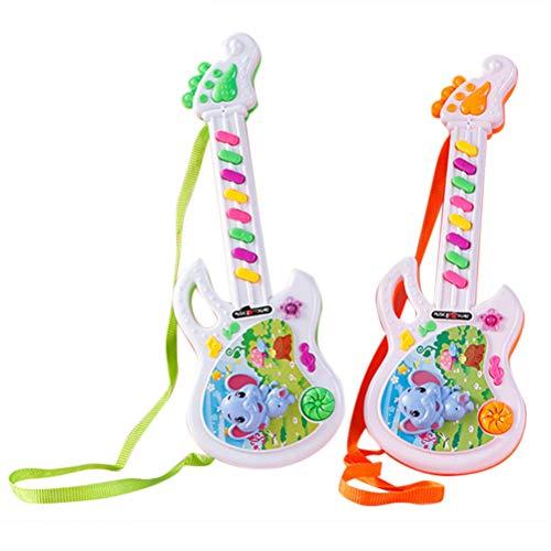 Yissma Mini Guitarra eléctrica Juguete música Infantil Juguetes Guitarras Lindas...