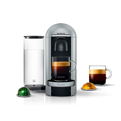 Breville-Nespresso USA BNV420SIL1BUC1 Nespresso VertuoPlus Deluxe Coffee and Espresso Maker by , Silver