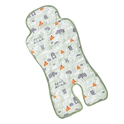 Baby Ice Matte, Sommer Atmungsaktiv Eissitz Kühlmatte Pad für Baby Kinderwagen Kindersicherheit Sitz Baby Esszimmerstuhl