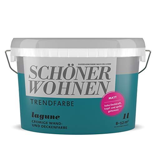 Schöner Wohnen Trendfarben matt lagune 1 l