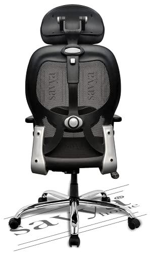 Savya Home® APEX Chairs™ Apollo Chrome Base HIGH Back Office CHAIR2