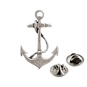 Creative Pewter Designs – Pirate Brooch Pin, Handmade in The USA – Available in Pewter, Copper, 22k Gold Plated & Hand…