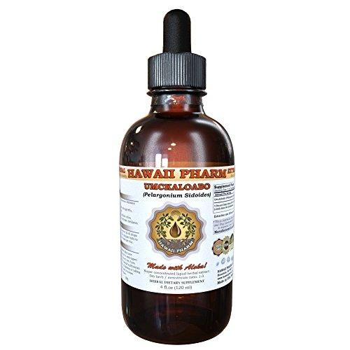 Umckaloabo Liquid Extract, Umckaloabo (Pelargonium Sidoides) Dried Root Tincture Herbal Supplement 4 oz