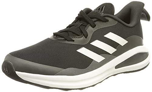 adidas Fortarun K Sneaker, Core Black FTWR White Grey Six, 4 UK