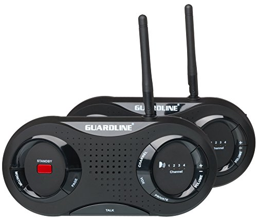 Guardline Wireless Intercom System. Top Rated Set For Home or Office....