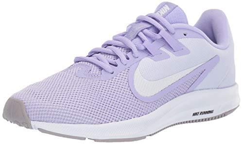 Nike Women's Downshifter 9 Sneaker, Purple Agate/White-Lavender Mist, 7.5 Regular US