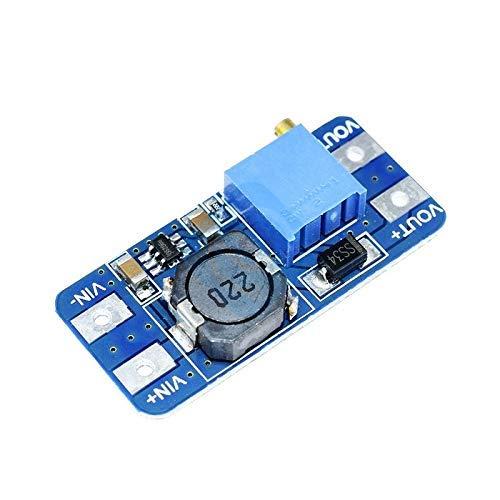 ZTSHBK 10PCS DC-DC-Wandler MT3608 für Arduino Board Boost Booster Power Apply-Modul Power Step Up-Modul MAX-Ausgang 28V 2A