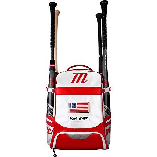 Marucci Dynamo Bat Pack, White/Red