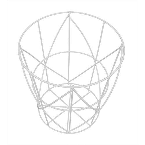 PrimoLiving draadmand design P-365 wit maat M (30 x 30 cm).