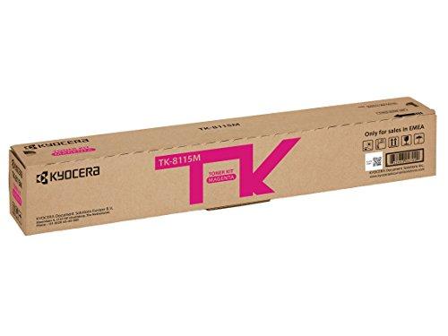 Kyocera TK-8115M Magenta. Original Toner-Kartusche 1T02P3BNL0.  Kompatibel für ECOSYS M8124cidn, ECOSYS M8130cidn