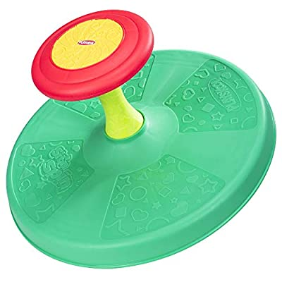 Playskool Sit 'n Spin Classic Spinning Activity Toy for Toddlers Ages Over 18 Months (Amazon Exclusive),Multicolor by Hasbro