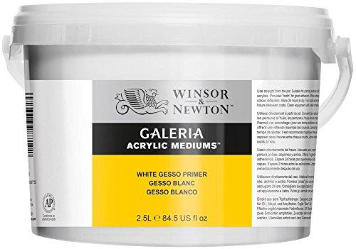 Winsor & Newton Galeria - Aditivo Galeria para pintura acrílica - Gesso cubo de 2,5L