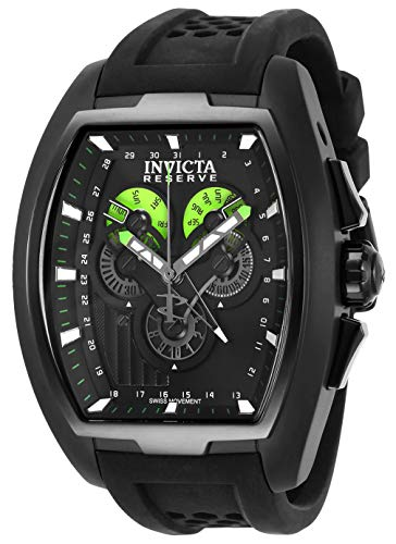 Invicta 27090 Reserve Montre Homme acier inoxydable Quartz Cadran noir