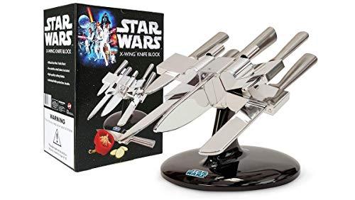 Bluw Star Wars X-Wing Knife Block, Plata, Centimeters