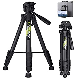 top rated Endurax 66 ″ for Canon Nikon Camcorder Lightweight Aluminum Travel Stand for Tripod DSLR… 2021