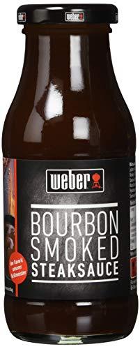 Weber Steaksauce Bourbon Smoked, 6er Pack (6 x 240 g)
