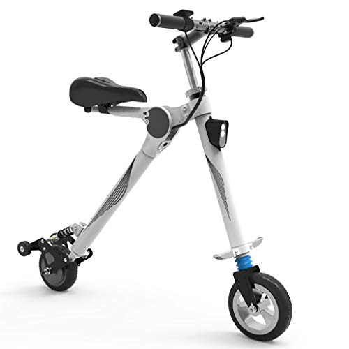 H-CAR QW Scooter Eléctrico, 3 Modos de Velocidad, Patinete eléctrico Plegable Adulto,...