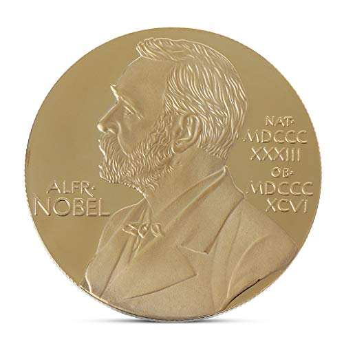 S-TROUBLE Alfred Bernhard Nobel Colección de Monedas conmemorativas Regalo Souvenir Art Metal Antiqu
