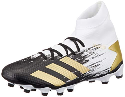 adidas Predator 20.3 MG, Zapatillas de fútbol Hombre, FTWBLA/Dormet/NEGBÁS, 42 EU