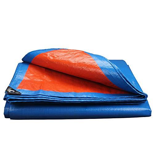 Bleu Orange 6x8m Bache renforc/ée haute densit/é 240g//m/² B/âche de protection casa pura/® en poly/éthyl/ène 100/% imperm/éable /à leau et aux UV env