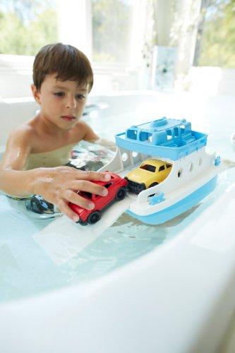 Green Toys FRBA 1038 Fähre mit Fahrzeugen