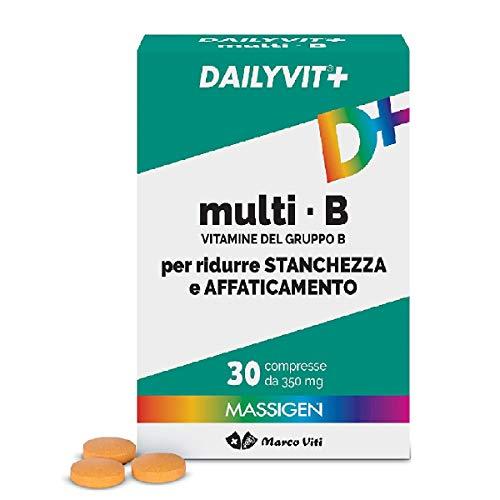 Massigen Multi B - Vitamine del gruppo B - Integratore 30 Compresse - 30 g
