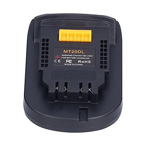 BOLORAMO Adaptador de batería, Conector de Montaje de energía de batería Estructura Estable conservadora para Herramientas eléctricas industriales