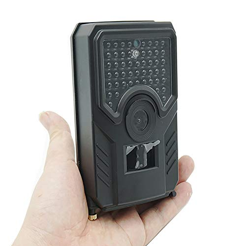 LMYMX Infrarotkamera Nachtsicht 12MP 1080P, Fotofalle Bewegungsmelder, mit Infrarot- Nachtsicht bis zu 65 ft / 20 M, IP56 wasserdichte Gehäuse, Wildtierkamera für Wildtierjagd und Heimsicherheit