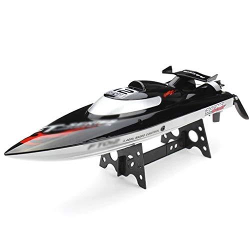 PBTRM Barche RC 2,4 GHz 45-50 Km/H Barca Telecomandata Senza Spazzole per Laghi, Sistema Raffreddamento Ad Acqua, Serie Professionale, Regalo per Gara Pool Motoscafi più Veloce
