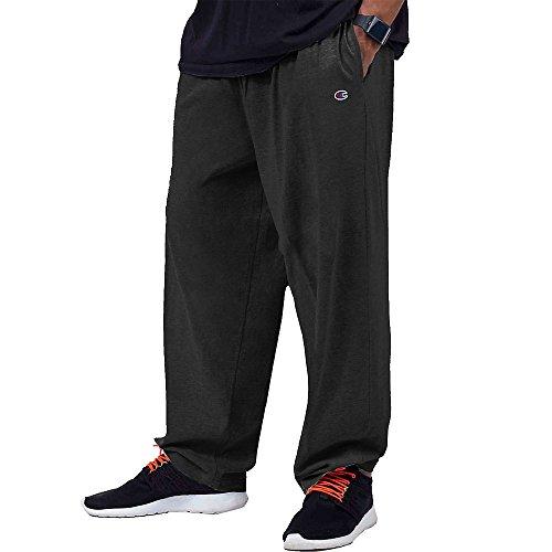 Champion Big & Tall Men's Jersey Pants with Elastic Bottom
