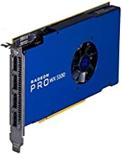 AMD Radeon Pro WX 5100 8GB GDDR5 Quad Display Graphics Card