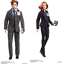 Barbie the X Files Agent Fox Mulder Doll AND Barbie the X Files Agent Dana Scully Doll