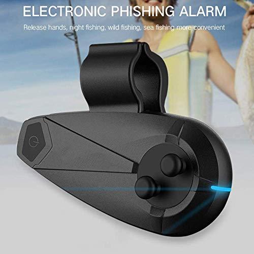Cutito Fischen Bissanzeiger, Smart Angelrute Bluetooth mit Elektronische Alarm Indikator für Telefone