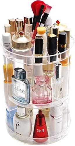 Caja de almacenamiento cosmético Maquillaje Pantalla Rack Almacenamiento Marco Joyería Perfume Balm Balm Partition Gabinete y Cajonera,A