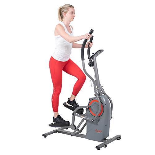 Sunny Health & Fitness Performance Elliptical Machine Cross Trainer with Climbing Motion - SF-E3911