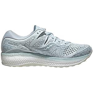 Saucony Women's Triumph ISO 5 Running Shoe, Seafoam Quakemustard, 5 M US