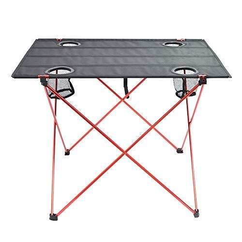 ZA Outdoor Ultra Light aluminium klap camping tafel draagbare vissen strand picknick grill mini kleine Oxford doek tafel